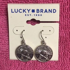 Authentic Lucky Brand Earrings